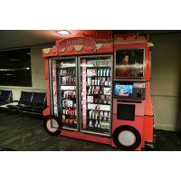 城市密码化妆品自动售货机为什么在国外会这么火?