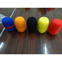 圆球型网罩话筒套 加厚 耳机棉话筒罩 麦克风海绵套