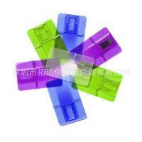 外贸卡片U盘工厂供 折叠透明卡片U盘4G 名片卡片U盘 广告卡片U盘