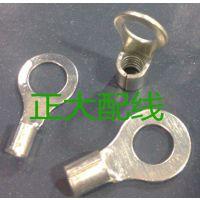 O型冷压端子RNB5.5-4圆形接线端子 裸端子端 线耳 铜接线鼻子