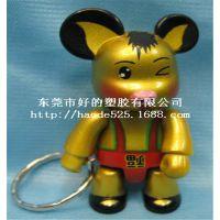 厂家直销生日创意礼品送男女友情侣钥匙扣汽车钥匙链挂件相爱小猪