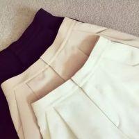 2015夏季新款 时尚高品质三色花苞西装短裤女装货源