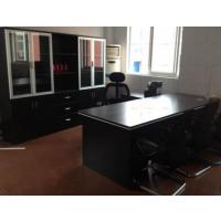 合肥大班台时尚老板桌总经理桌厂家直销价格18019589385