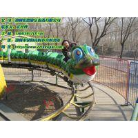宏德游乐供应刺激好玩的轨道类游乐设备青虫滑车