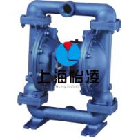 QBY-15气动隔膜泵 QBY-15 铸铁气动隔膜泵厂家 上海怡凌
