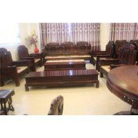 老红木福禄寿沙发定做红木家具价格、东阳木雕款式、红木家具市场