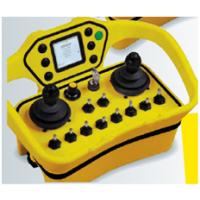 厂家南京帝淮摇杆式行车遥控器非标定做双向回传指示灯或蜂鸣器且带吨位回传液晶屏或数码管显示