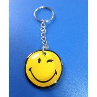 供应天津直销生产非主流钥匙扣,滴胶钥匙扣礼品,烤漆钥匙扣制作