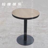 工厂直销星巴克咖啡桌星巴克圆桌星巴克桌椅定做