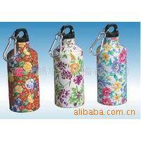 热转印 提供喷塑加工 运动水壶、锁、文件夹等五金、塑料表面印花