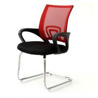 广州办公家具厂家直销弓形网布椅会议椅办公椅会客椅固定椅特价