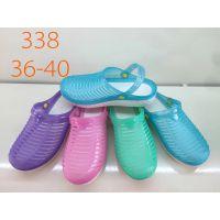 厂家直销便宜的两用沙滩鞋,男女便宜的网鞋洞洞鞋沙滩鞋