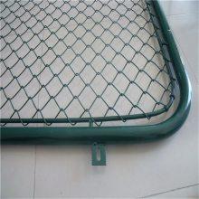旺来球场围栏网厂家 球场铁丝网 勾花网哪家好