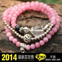 白砗磲手链 天然春色新款 泰国原石串珠 福佑 异域风情手链.
