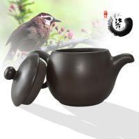 紫砂壶 鸟语花香 茶具茶壶用品 功夫茶手拉壶 手工工艺 厂家直销