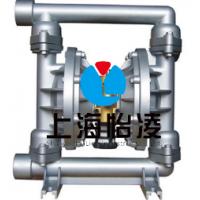 生产QBY-25气动隔膜泵 QBY-25不锈钢气动隔膜泵 上海怡凌