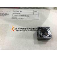 SENSATA 680H0480111 IC插座QFP48PIN 弹压式 双触点测试座