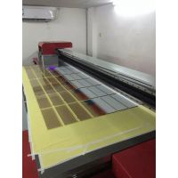 深圳宝安UV印刷面板定制厂家 有机玻璃彩绘加工 橱柜门喷画机