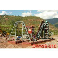 山东青州东威泵排DWWS-010链斗式挖沙船绞吸式挖沙船专业制造