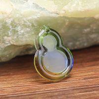 时尚首饰 台湾琉璃 金箔葫芦 挂件 树脂饰品厂水晶饰品厂加工定制
