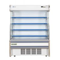 新立式连体机组1.5米敞开式风幕柜水果蔬菜冷藏展示柜SLG-1500F