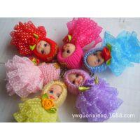 新款热销迷糊娃娃 毛绒芭比 天使绕球娃娃公仔玩具包包挂件批发