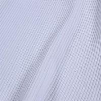 厂家现货批发服装CVC罗纹布-弹力拉架罗纹布-氨纶拉架螺纹