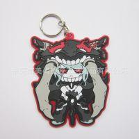 定制 日本骷髅公仔  PVC滴胶钥匙挂件 塑胶钥匙挂件 软胶钥匙挂件