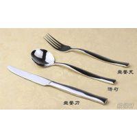 供应不锈钢西餐刀叉 刀叉餐具 D63系列主餐刀叉 酒店用餐