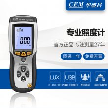 CEM华盛昌DT-8809A专业级照度计数据记录USB连接电脑