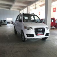 江西新款式全封闭家用电动四轮车路途老年四轮电动代步车LUTU11