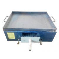 万贯蓝色透明品牌液化气天燃气方炉火烧单烤箱卧式老北京烧饼炉