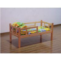 """幼儿园简约实木单人床定做就到""""大林宝宝""""专业厂家"""