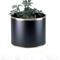 不锈钢花盆花器花瓶定制 户外装饰花盆 深圳厂家批发