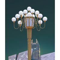厂家直销8米led中华灯、led景观玉兰灯信誉好质量保证