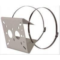 抱箍扣环支架 抱圆柱支架 立杆摄像机支架 电杆监控支架 墙角支架