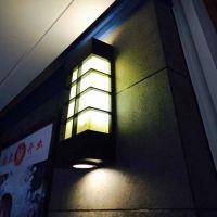 优质壁灯 LED户外壁 景观灯 铝制不锈钢热镀锌仿云石