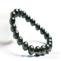 正品纯天然水晶手链精选满绿绿幽灵手串流行大气送礼手饰品