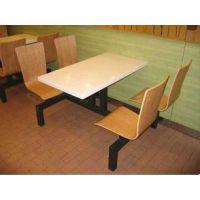 天津连体餐桌饭店餐桌快餐餐桌厂家直销定做各种家具