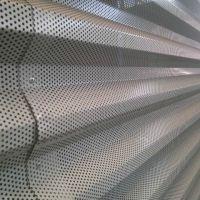 5孔5距彩色镀铝锌穿孔压型钢板精雕细琢