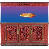 云南玻璃鱼缸,昆明风水鱼缸,亮彩水族,昆明大型水族箱