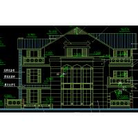 [江苏]三层新古典法式高端独栋别墅设计施工图