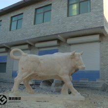 埃及黄石雕牛厂家一件批发出售