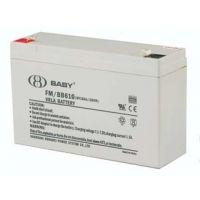 上海鸿贝12V7AH蓄电池FM/BB127铅酸免维护蓄电池UPS电源专用电池
