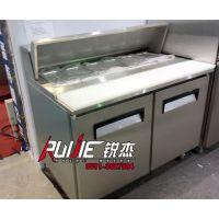 工厂订做分盘另购 整体发泡工作台 冷柜 展示柜 冷藏平冷操作台