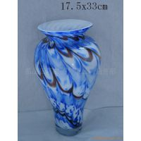 彩色玻璃罐,水果盘,花瓶,玻璃摆饰品,灯罩,彩色带花玻璃圆球