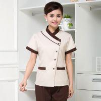 高档酒店宾馆客房保洁服短袖夏装物业PA保洁清洁服务员工作服装女