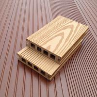 塑木pe地板 防滑防潮地板100H25室外木地板供应 木塑复合地板材料