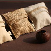 茶叶麻布袋定制厂家 面粉麻布袋加工 束口麻布袋尺寸