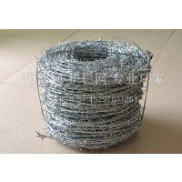 厂家直供瓦林吞式双捻铁蒺藜_双股正反捻刺绳_带刺热镀锌铁丝网